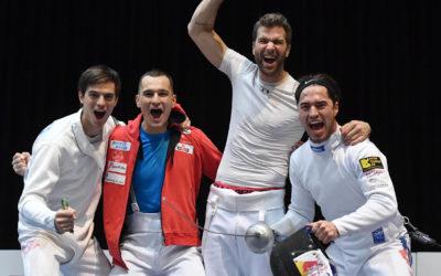 Médaillé de bronze aux Mondiaux de Budapest