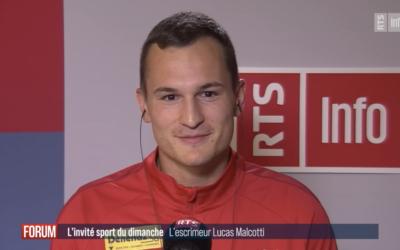 L'invité sport – Lucas Malcotti